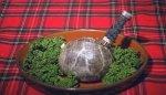Национальное  шотландское блюдо -   хаггис